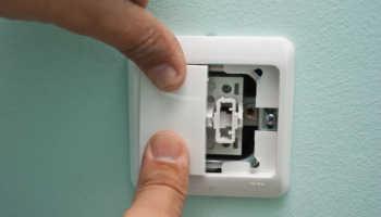 Как разобрать выключатель света в квартире?
