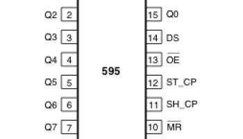 Сдвиговый регистр 74hc595