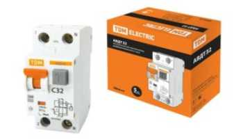 Обозначение автомата на электрической схеме