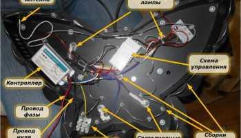 Ремонт галогеновых люстр с пультом управления