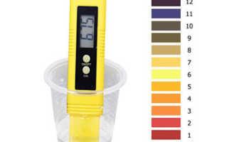 Прибор для измерения кислотности жидкости