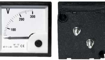 Каким прибором измеряют напряжение в сети?