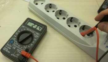 Как проверить розетку мультиметром