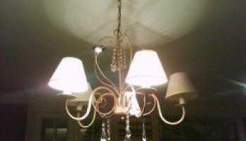 Нет света в комнате после перегорания одной из пяти ламп – что делать?