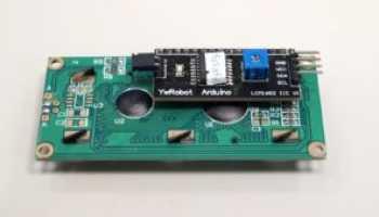 Подключение символьного lcd-дисплея 16х2 (hd44780)