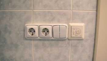 Как заизолировать кабель в ванной комнате?